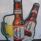 Anheuser-Busch Bud Dry Advertising Metal Sign