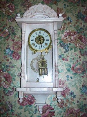 Antique Vienna RA Style Wall Clock
