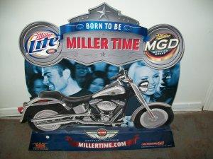 Miller Harley Davidson Advertising Standup