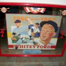 Seagrams 7 Whitey Ford Advertising Mirror