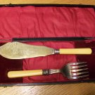 English Fish/Carving Set
