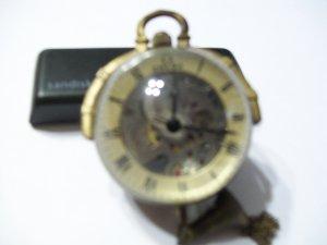 Skeleton Ball Watch-Brass