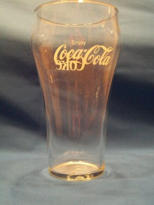 Vintage Coca-Cola 16 oz. glass