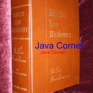 Black's Law Dictionary  Deluxe Fourth Edition, 1951
