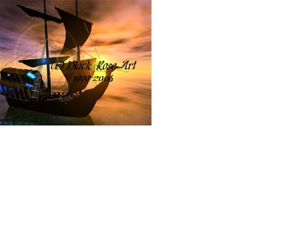 Ghost Ship 5x7