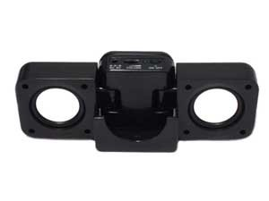 Portable Stereo Speaker for Samsung i9000 Galaxy S Black