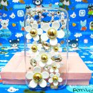 Bling Rhinestone Crystal Daisy Flower Pearl Clear Case Cover for Samsung i9300 Galaxy S3 SIII