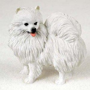 American Eskimo Miniature Standard Figurine