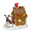 Chinese Crested Dog Ginger Bread House