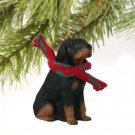 Black & Tan Coonhound Christmas Ornament