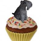 Kerry Blue Terrier Pupcake Trinket Box