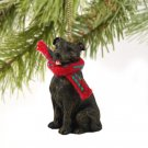 Staffordshire Bull Terrier, Brindle  Christmas Ornament