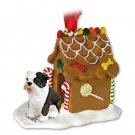 Bulldog, Brindle Ginger Bread House