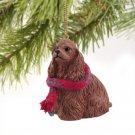 Cocker Spaniel, Brown Christmas Ornament