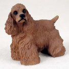 Cocker Spaniel, Brown Standard Figurine