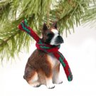 Boxer, Brindle Christmas Ornament