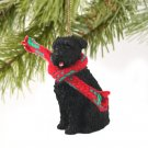 Bouvier, Uncropped Christmas Ornament