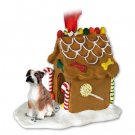 Boxer, Brindle, Uncropped Ginger Bread House