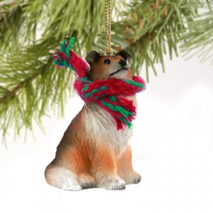 Collie, Sable Christmas Ornament