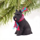 Schnauzer, Black Christmas Ornament