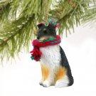 Sheltie, Tricolor Christmas Ornament