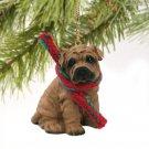 Shar Pei, Brown Christmas Ornament