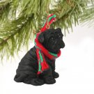 Shar Pei, Black Christmas Ornament