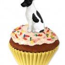 Fox Terrier, Black & White Pupcake Trinket Box