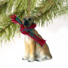 Great Dane, Fawn, Uncropped Christmas Ornament