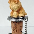 Poodle, Apricot Bottle Stopper