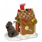 Poodle, Chocolate Ginger Bread House