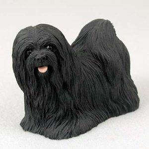 Lhasa Apso, Black Standard Figurine