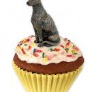 Greyhound, Brindle Pupcake Trinket Box