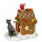 Greyhound, Brindle Ginger Bread House