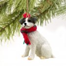 Jack Russell Terrier, Brown & White, Rough Coat Christmas Ornament