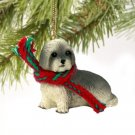 Lhasa Apso, Gray, Sport cut Christmas Ornament
