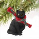 Shorthair Black Tabby Christmas Ornament