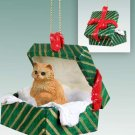 Persian Red Green Gift Box Ornament
