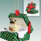 Ragdoll Green Gift Box Ornament