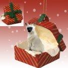Siamese Red Gift Box Ornament