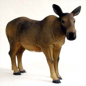 Moose, Cow Standard Figurine