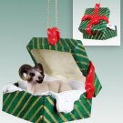 Sheep, Dall Green Gift Box Ornament