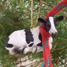 Holstein Cow Christmas Ornament