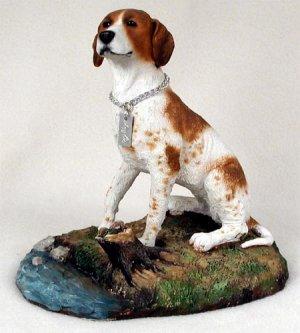 Pointer Brown & White My Dog Figurine