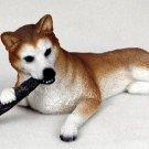 Husky Red & White Blue Eyes My Dog Figurine