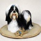 Shih Tzu Black & White My Dog Figurine