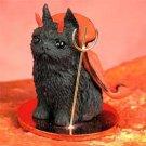 Brussels Griffon, Black Devil