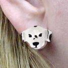 Dalmatian Earrings Post