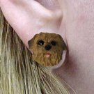 Norfolk Terrier Earring Post