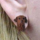 Chesapeake Bay Retriever Earrings Post